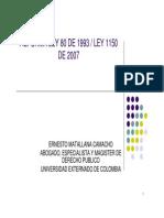 presentación novedades para el control interno de la ley 1150_2007