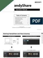 HandyShare Operation Manual in English