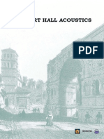 Concert hall Acoustic