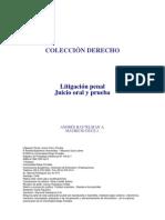 Litigación Penal y Juicio Oral. Baytelman Andrés y Duce Mauricio