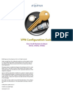 VPN Tracker Cisco Linksys RV0xx Series