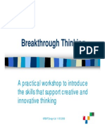 Breakthrough Thinking Sample