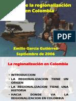 Bases de La Regionalizacion Colombia