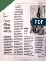 L'incubo di Silvana inseguita nella notte, La nona ora di Maurizio Ponticello sul Mattino di Salerno, Marcello Napoli