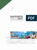Rapporto annuale 2013