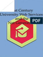 21st Century University Web Services and the Net Generation
