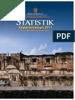 buku STATISTIK  Wisatawan Jogja