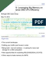 DB2 - Memory for Mips - MDUG 2013May15