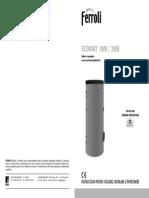 Manual Instalare_Utilizare Boilere ECOUNIT WB
