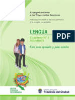 Sep 16 Cuadernillo Lengua I - Alumnos