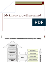 Mckinsey Growth Pyramid