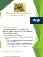 Freemark Abbey Winery