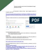 Google Docs Evaluanet 2013