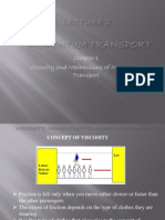 Viscosity and Mechanisms of Momentum Transport