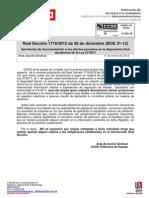 Nota Informativa Real Decreto BOE