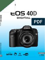 Manual canon 40D