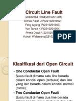Open Circuit Line Fault