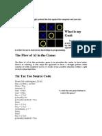 Tic Tac Toe Source Code