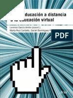 De la educación a distancia a la educación virtual Escrito por Lorenzo García Aretio-Marta Ruiz Corbella-Daniel Domínguez Figaredo
