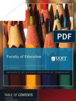 2010-2011 Faculty of Education Viewbook