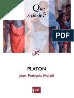 Jean-François Mattei - Platon.pdf