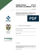 NTS_-_TS_006-1._Sistema_de_gestión_para_la_sostenibilidad._Organizadores_profesionales_de_congresos,_ferias_y_convenciones,_2012.