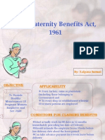 Maternity Benefit