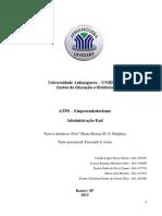 ATPS Empreendedorismo postar