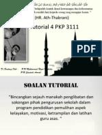 Tutorial 4 PKP 3111