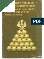 La institución militar en el Estado contemporáneo