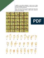 El alfabeto dactilológico español es un sistema unimanual (1)