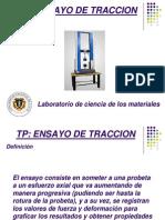 Presentacion Ensayo de Traccion 2012