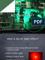 Beals, AC Stark Effect