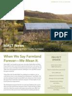 2013 Summer Marin Agricultural Land Trust Newsletter
