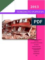 Terremoto Popayan