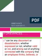 Grievance