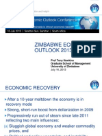 Zimbabwe Economic Outlook2013-14