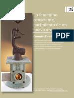 LO FEMENINO CONSCIENTE, Nacimiento de Un Nuevo Arquetipo. Connie Zweig. Arteresponsable.