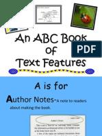 abcbookoftextfeatures