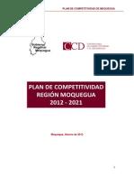 Plan de Competitividad 2012-2021 Region Moquegua