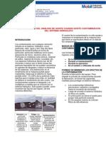 Contaminacion Del Sistema Hidraulico