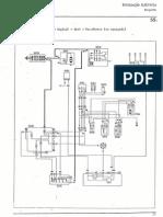 Fiat Uno - Instalação Eléctrica - Esquemas