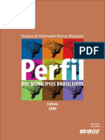 pesquisa IBGE cultura2006