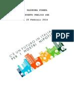 Massimo Caputi rilancia Prelios con un dibattito di idee su futuro economico e sociale Italia