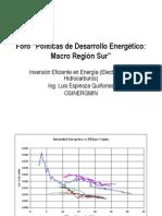 OSINERGMIN - Inversion Eficiente en Energia