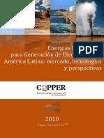 Generación electricidad renovable latinoamerica_2010