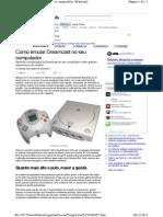 Emular Dreamcast