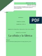 La célula y la fábrica.doc