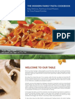 Barilla Modern Family Pasta Cookbook
