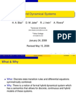 Hybrid Dynamical Systems Talk